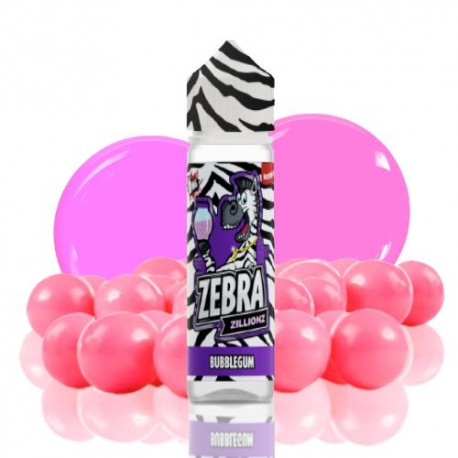 ZILLIONZ BUBBLEGUM 50ml - ZEBRA JUICE