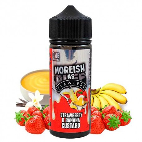 CUSTARDS STRAWBERY & BANANA 100 ML  - MOREISH AS FLAWLESS