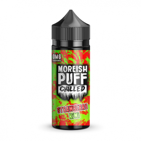 CHILLED STRAWBERRY KIWI 100 ML  - MOREISH PUFF