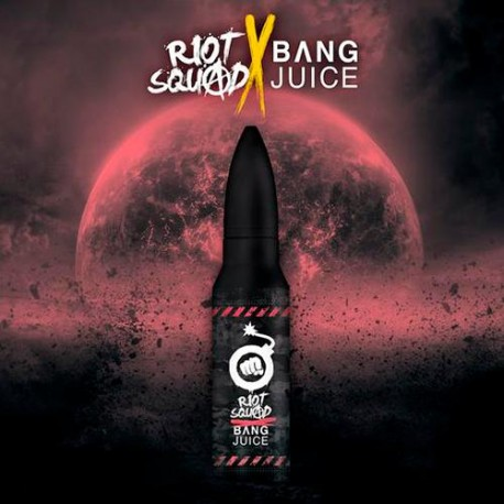 RIOT SQUAD X BANG JUICE LIMITED EDITION WILDBERRY FUSION 50ml (Shortfill)