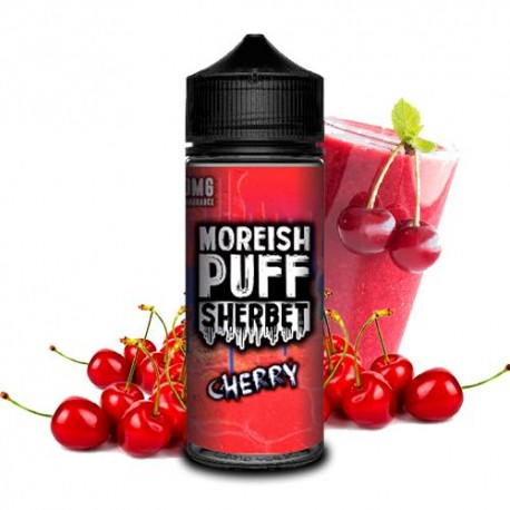 SHERBET CHERRY 100ML - MOREISH PUFF