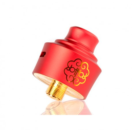 Dot RDA SINGLE COIL 22MM RED - DOTMOD