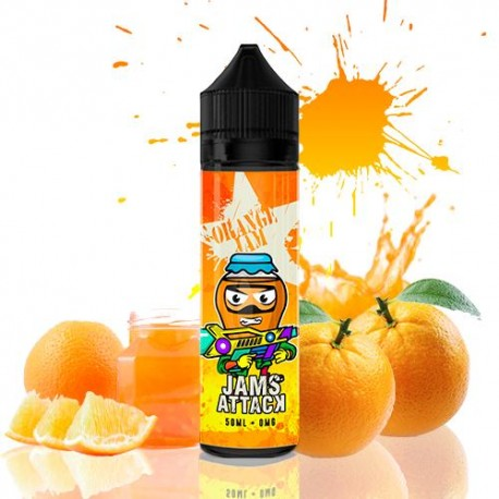 ORANGE MARMELADE 50ML - JAMS ATTACK