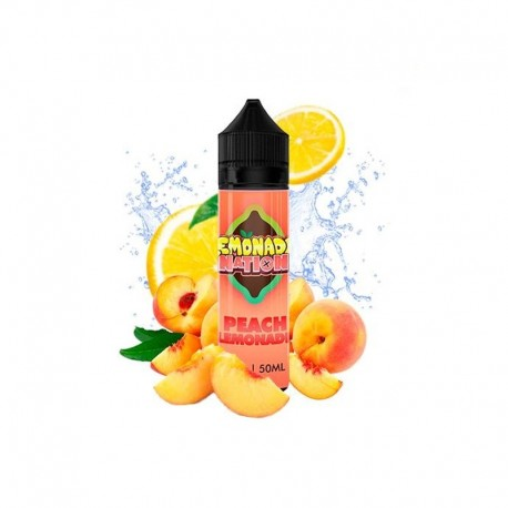 PEACH LEMONADE 50ml - LEMONADE NATION