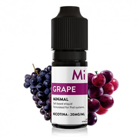 GRAPE 10ML 20MG - MINIMAL SALTS