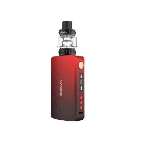 GEN KIT 220W + SKRR BLACK/RED - VAPORESSO
