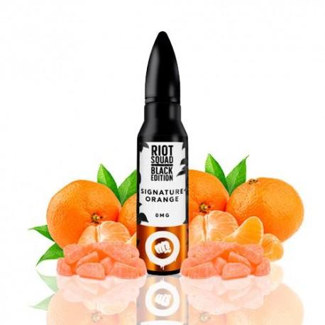 Signature Orange 50ml - BLACK EDITION by RIOT SQUAD