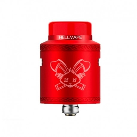 DEAD RABBIT V2 RDA RED - HELLVAPE