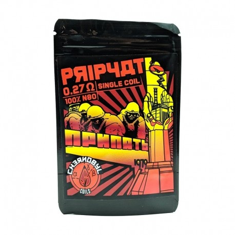 PRIPYAT 0.27 OHMS - CHARROCOILS