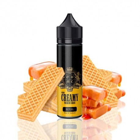 ROYAL  JUICE PREMIUN CREAMY SERIES 50ML - OSSEM