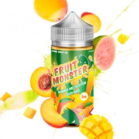 MANGO MELOCOTON GUAYABA 100ML - FRUIT MONSTER