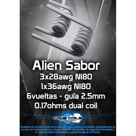 ALIEN SABOR - CHUSCOILS