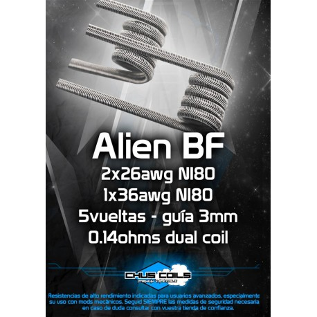 ALIEN SPECIAL BF - CHUSCOILS