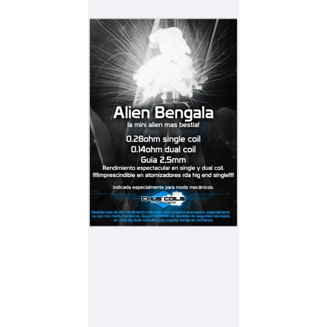 ALIEN BENGALA FULL NI80 - CHUSCOILS