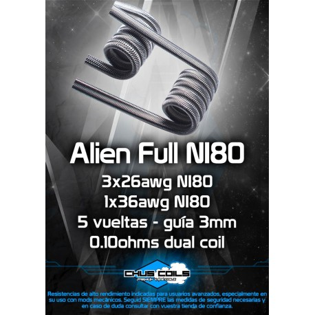 ALIEN FULL NI80 - CHUSCOILS