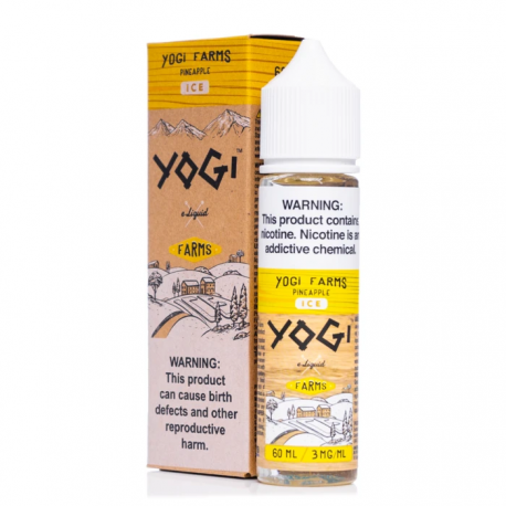 YOGI FARMS PINEAPPLE 50ML 0MG - YOGI