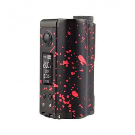 TOPSIDE DUAL 200W BF MOD BLACK/RED - DOVPO