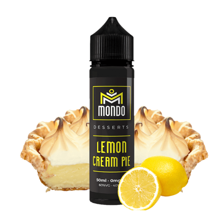 LEMON CREAM PIE 50ML - MONDO