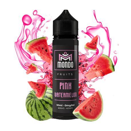 PINK WATERMELON 50ML - MONDO ELIQUIDS