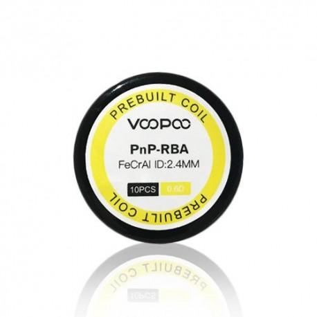 PNP RBA PREBUILT COIL (10 UNIDADES) - VOOPOO