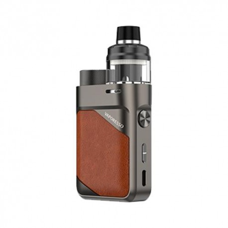 SWAG PX80 KIT LEATHER BROWN - VAPORESSO
