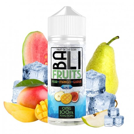 PEAR + MANGO + GUAVA ICE 100ML - BALI BY KINGS CREST